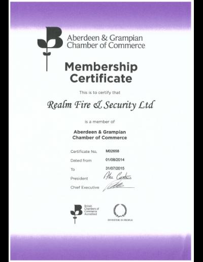 AGCC-certificate