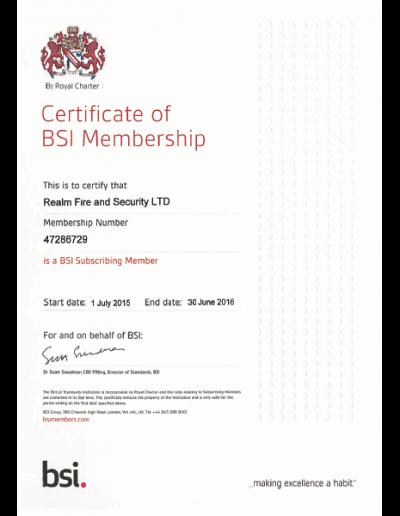 BSI-certificate
