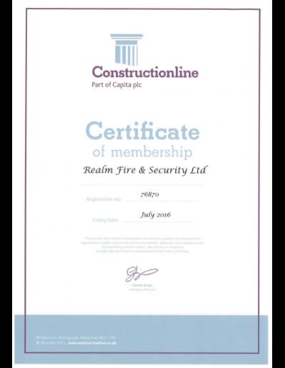 Construction-line-certificate