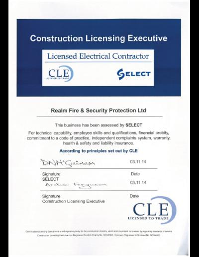 Select-certificate